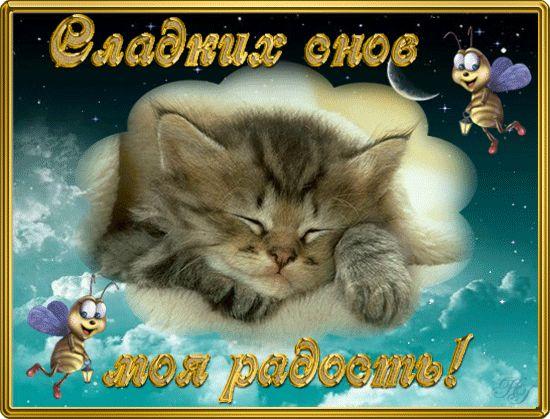 открытка спокойной ночи приятных снов: 19 тыс изображений найдено в Яндекс.Картинках