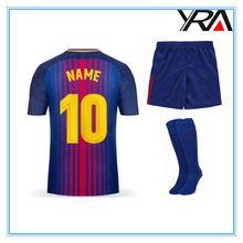 kids men football shirt maker sports jersey boys new model wholesale thailand quality custom soccer jersey kit 2017