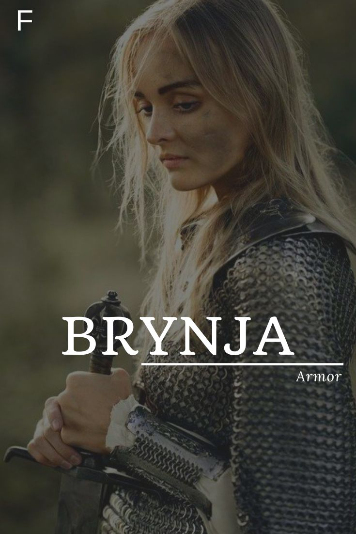 Brynja in 2020 | Fantasy character names, Character names ...