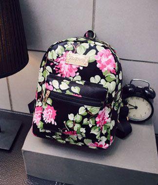 2016 New Stamps School Rugzak Tassen voor Teens kunstleer Vrouwen Rugzakken Meisjes Travel Bag High Quality N509
