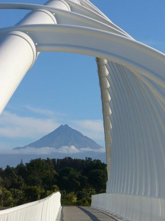Mt Taranaki, New Zealand... I read the star gazing is beautiful here