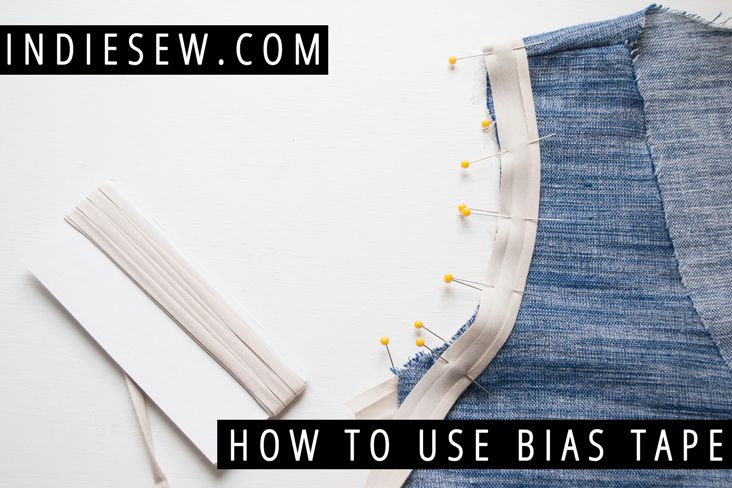 Indiesew.com | Avoid wonky, wavy armholes! Learn how to sew with bias tape (a.k.a. bias binding) to finish armholes and necklines for a professional, crisp look.