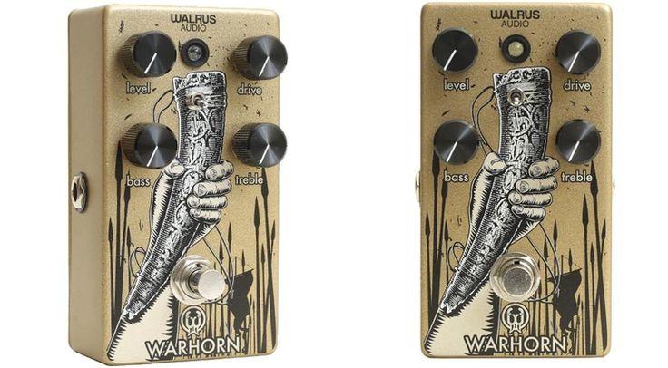 Ein Schlachtenhorn wünscht sich doch jeder gern. Warum nicht gleich in passender Form für Gitarristen fürs Pedalboard? Auch gern in Englisch als Warhorn.