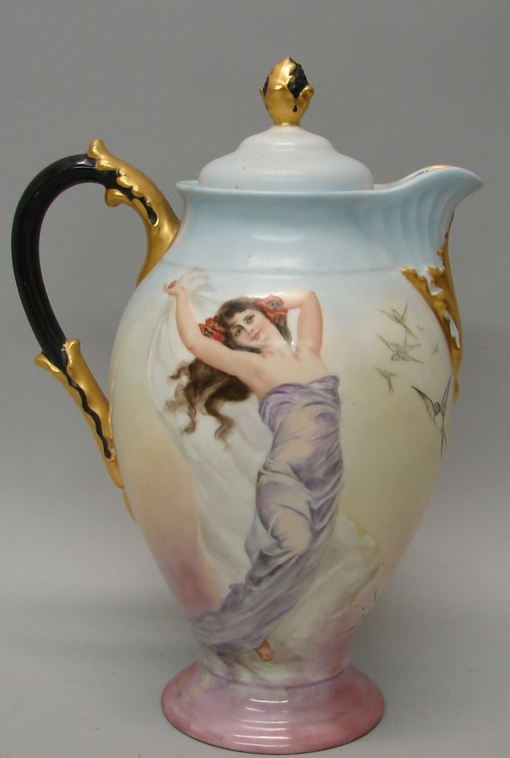 limoges women Category list of antiques, with information and images (page 2.