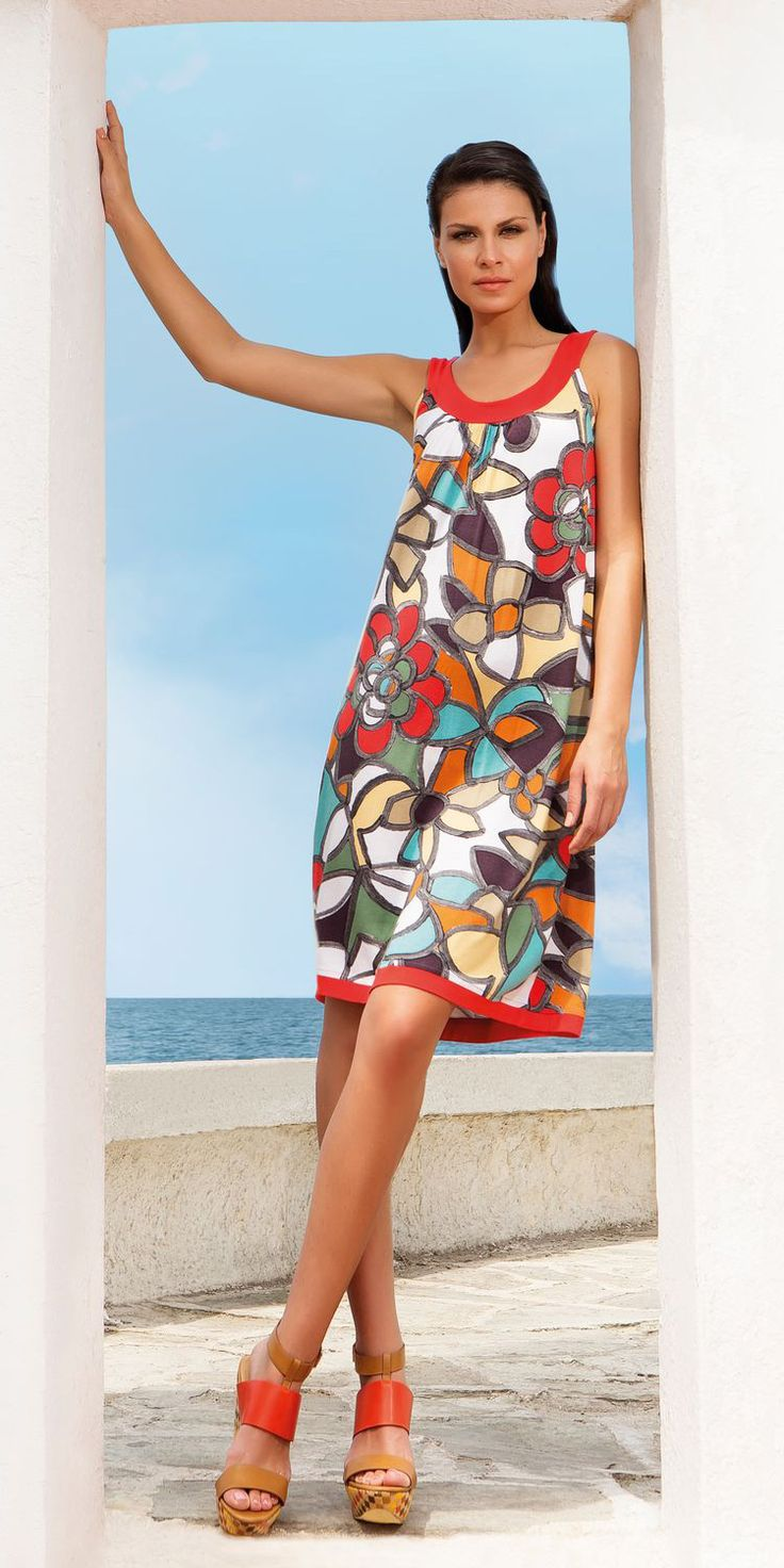 Ladies Beachwear 95% viscose 5% elastane | Beachwear Dresses| Vamp! Ladies Beachwear 95% viscose 5% elastane 4551