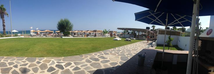 Panoramic view from the bar of Ammades