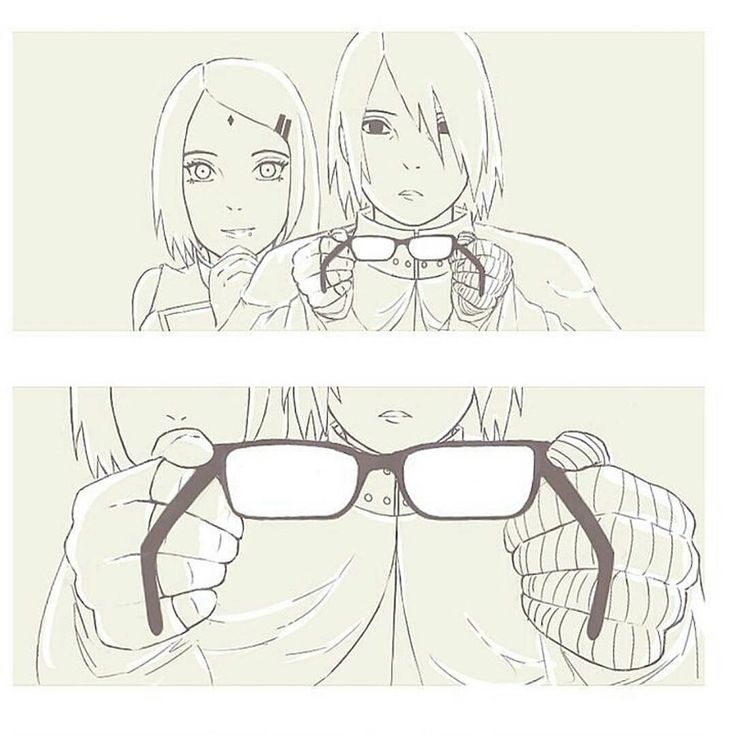 - Fun Fact: the anime confirmed that the reason why Sarada wears glasses is because she awakened the Sharingan at a young age that caused her to go blind an thus she needed the glasses ever since. Where in the forest she re-awakened the Sharingan.  (Got this from the otakukart.com) By:@ssakura_x kura  Comment    Leave a Like and a subscription if you like what I post   Follow  @naruto.gan  Follow  @naruto.gan  Follow  @naruto.gan   For more [ Naruto posts ] FOLLOW   @naruto.gan   @naruto.gan…