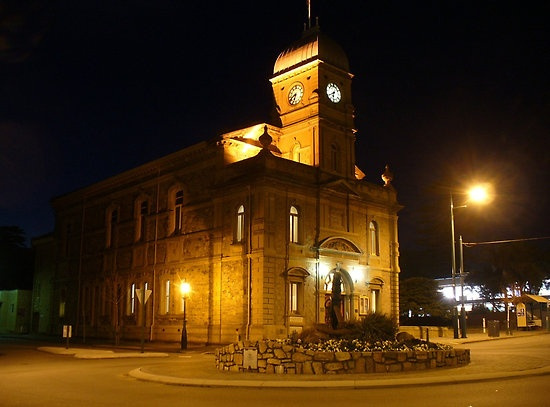 The Pride of Albany. Albany Town Hall