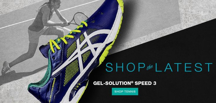 Shop the Latest Tennis Shoes - GEL-SOLUTION® SPEED 3