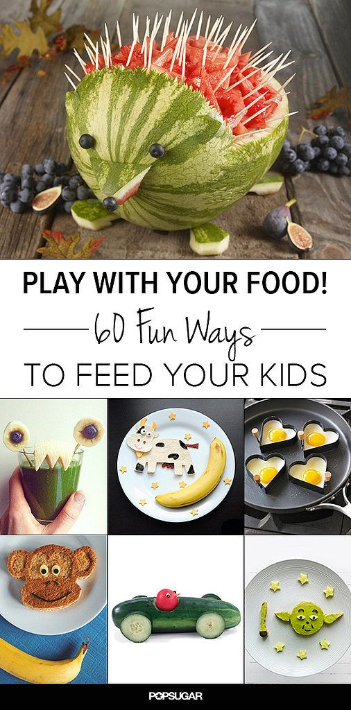 Playing With Food Never Seemed So Fun!