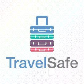 Exclusive Customizable Logo For Sale: Travel Safe | StockLogos.com