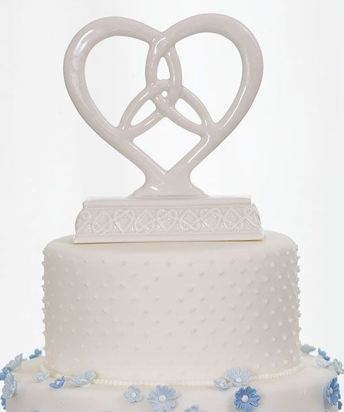 Irish Knot Wedding Cake Topper | Wedding Cake Toppers at Favors and Flowers