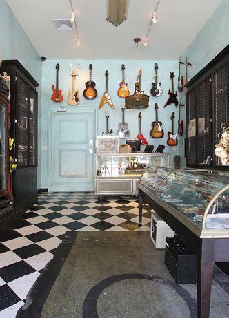 Beauty Essex Music Shop Entrance