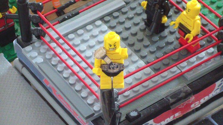 Lego WWE Raw Randy Orton vs John Cena