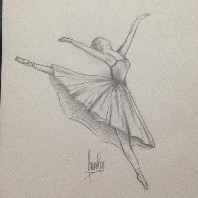 Ballerina #ballerina #cool #cute #draw #drawing #art #dance #painting #artist #art #artistsoninstagram #cool #fun #easy #pencildrawing #pencil #sketch #artwork_universe