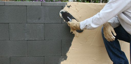 Build A Concrete Block Wall For Raised Beds With Dry