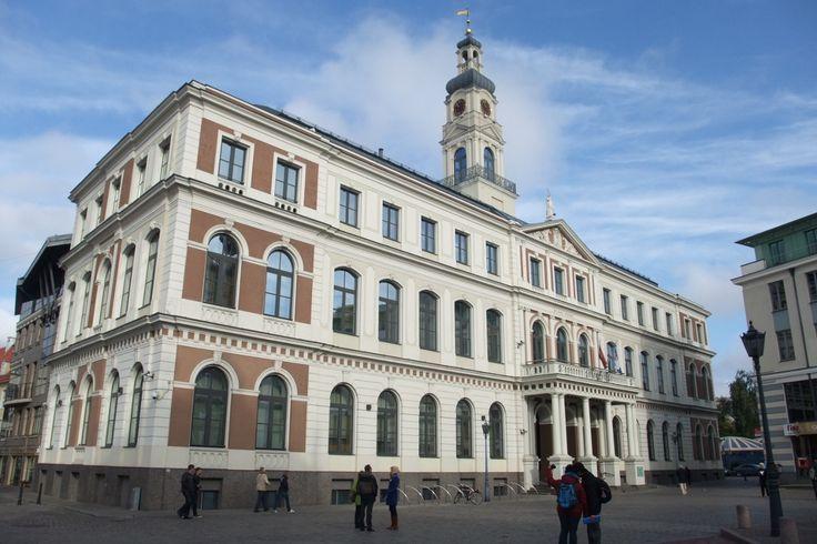 Hôtel de ville de Riga.