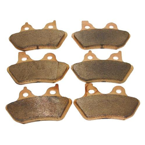 Front & Rear Brakes Harley Davidson Touring Flhrci Road King Classic Sintered Severe Duty Brake Pads 2000 2001 2002 2003 2004 2005 2006 2007 #carscampus
