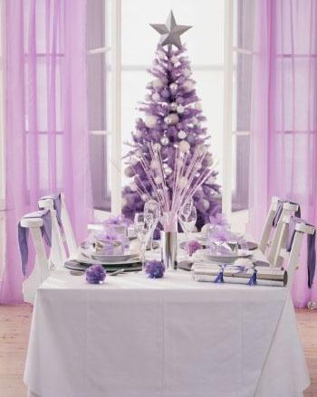 Lilac Christmas.