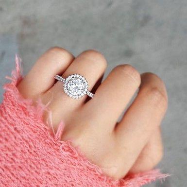 Circle Engagement Ring - RING - $34.50