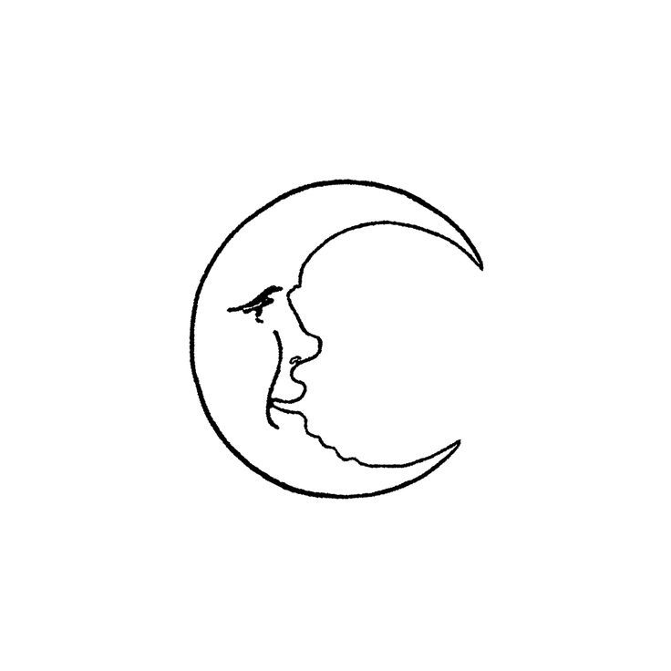Crescent Moon 739d Minimalist Tattoo Tattoos Line Art Drawings