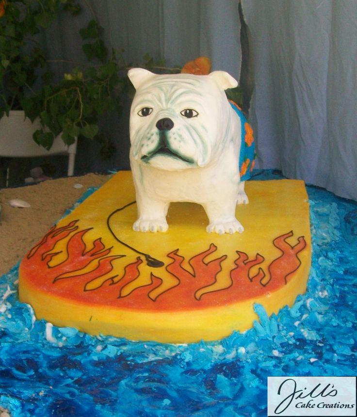 55 best DOG CAKES images on Pinterest Birthday cakes Dog cakes