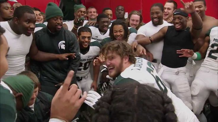 The Journey: Big Ten Football 2013 - Travis Jackson and the YES! chant