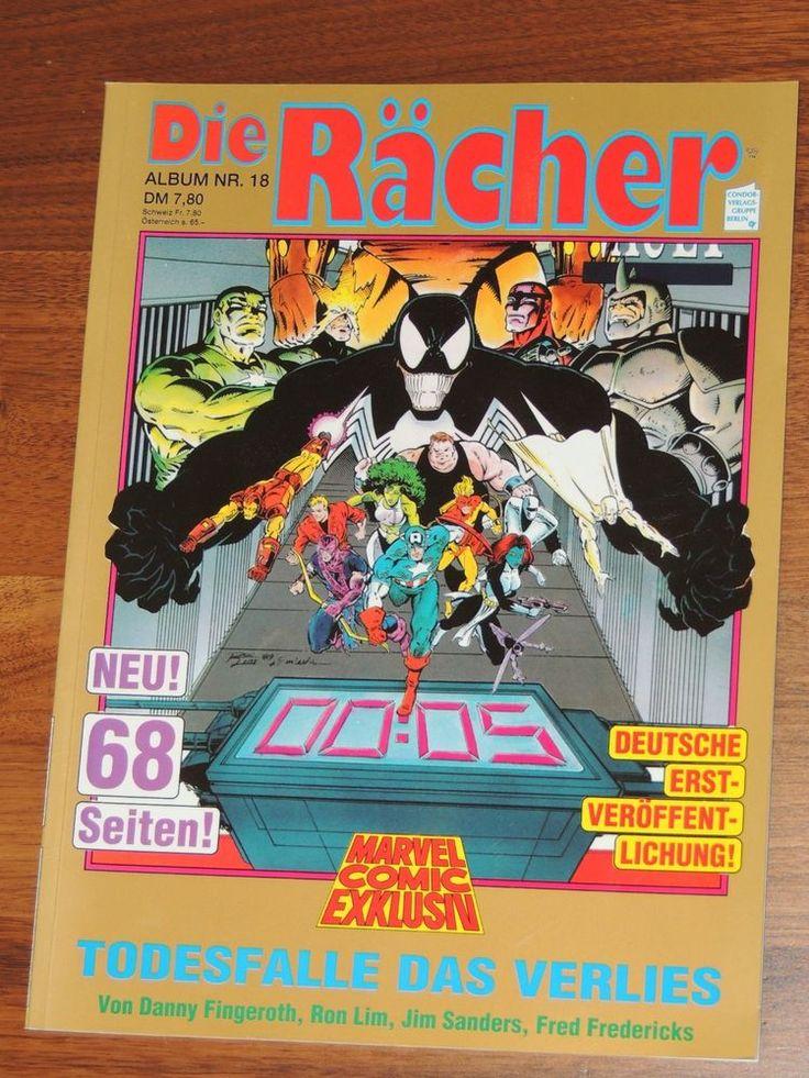 Marvel Comic Exklusiv Album #16 Die Rächer (Condor Verlag)
