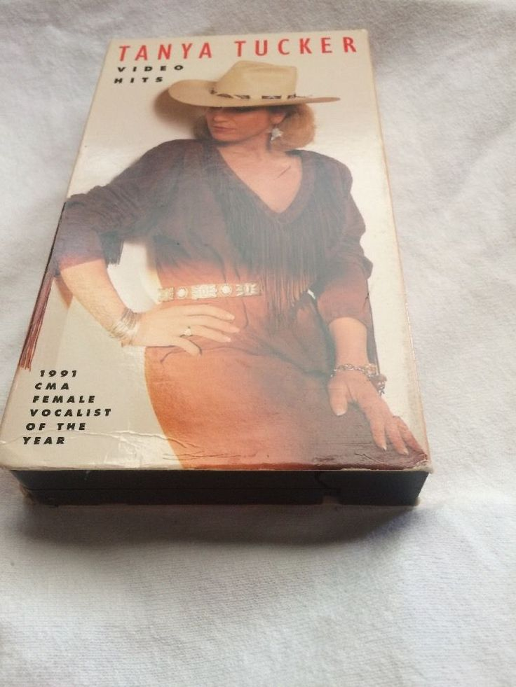 Video Hits by Tanya Tucker (VHS, Oct-1992, Liberty Home Video)