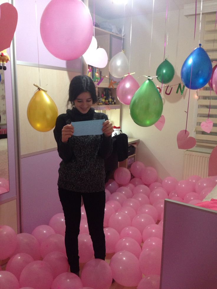 1000 birthday surprise ideas on pinterest surprise for Como hacer decoraciones para la casa