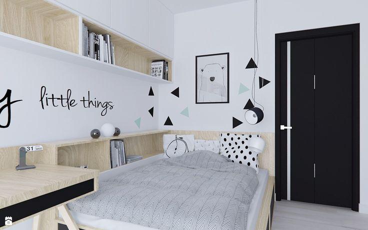 Wystrój wnętrz - Pokój dziecka - pomysły na aranżacje. Projekty, które stanowią prawdziwe inspiracje dla każdego, dla kogo liczy się dobry design, oryginalny styl i nieprzeciętne rozwiązania w nowoczesnym projektowaniu i dekorowaniu wnętrz. Obejrzyj zdjęcia! - strona: 8
