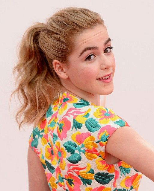 Kiernan Shipka Long Hairstyles: 2014 Cute Ponytail Hairstyle