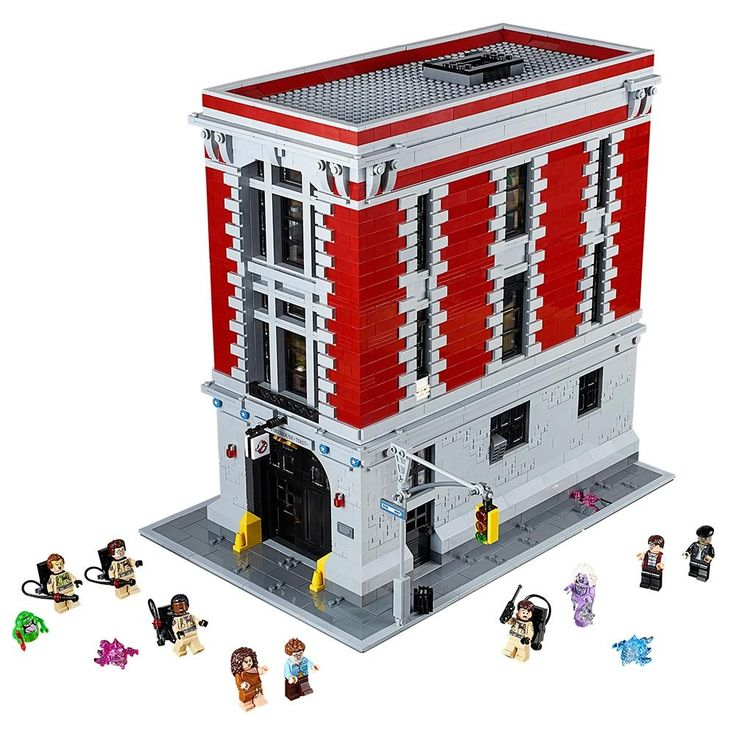 LEGO Ghostbusters Firehouse HQ! Get ready to bust some ghosts at the Firehouse Headquarters! There's definitely something strange in this neighbourhood! Slide down the fire pole into action, power up the proton packs and start zapping! The Ghostbusters are chasing Slimer and other mischievous ghosts. Round them up in the containment unit! Take samples of slime to the lab and analyze photos in the darkroom. https://priceprobe.co.uk/products/lego-ghostbusters