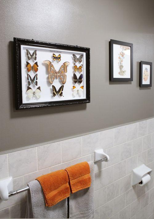 light orange color bathroom Best 25+ Orange bathrooms ideas on Pinterest | Orange