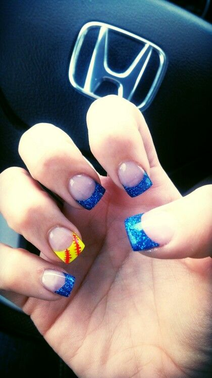 My softball nails :))