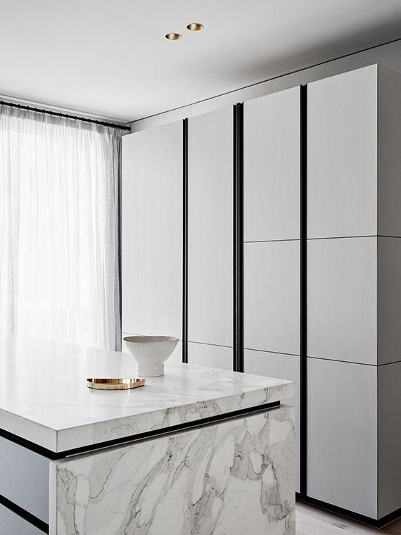 Minimalistic kitchen design inspiration | Flack Studio