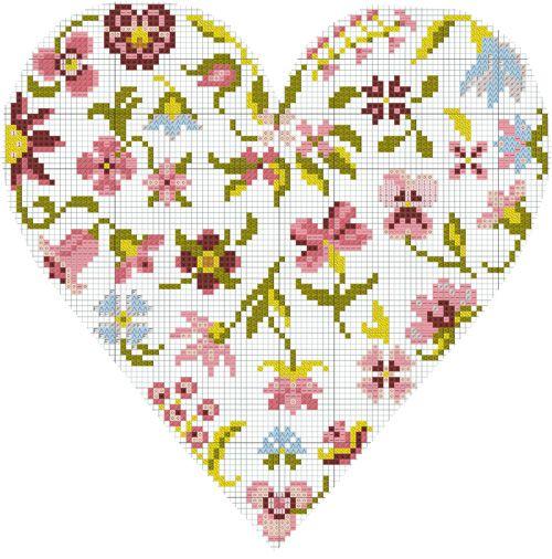 diagramme-gratuit-DMC-coeur-de-fleurs-
