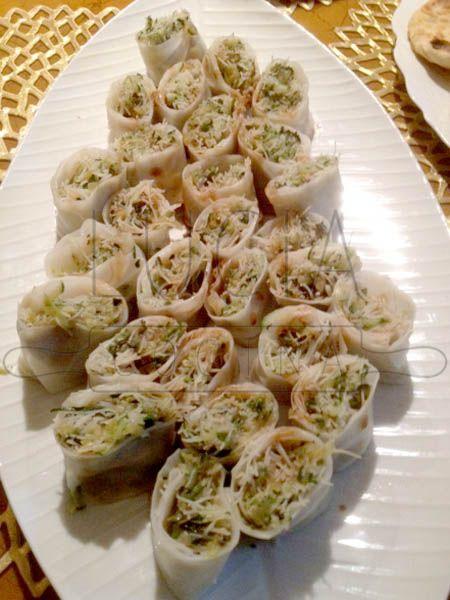 Rollitos vietanimitas de arroz y vermicelli http://luciacocinabogota.blogspot.com/2014/06/evento-comida-celebracion-familiar.html