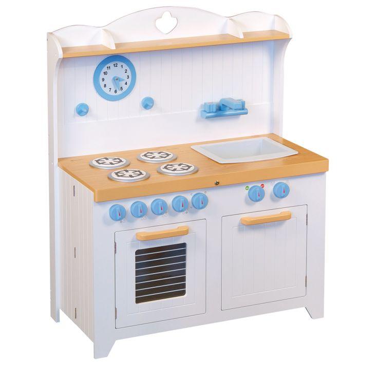 Guidecraft Hideaway Folding Country Toy Kitchen, £169.00 (http://inspiringtoys.co.uk/guidecraft-hideaway-folding-country-toy-kitchen/)