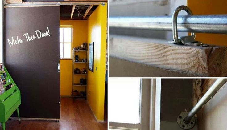 Diy Sliding Door House Smarts Pinterest Sliding