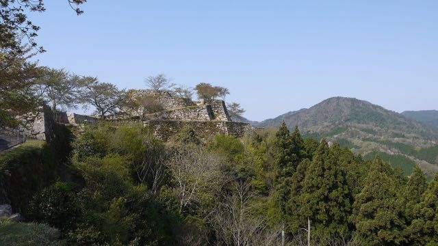 The remains of Takeda Castle is the Japanese Machu Picchu!