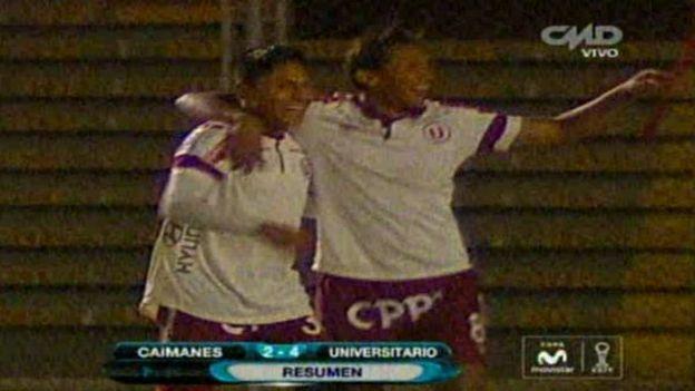 Los Caimanes perdió 4-2 con Universitario en Chiclayo #Depor