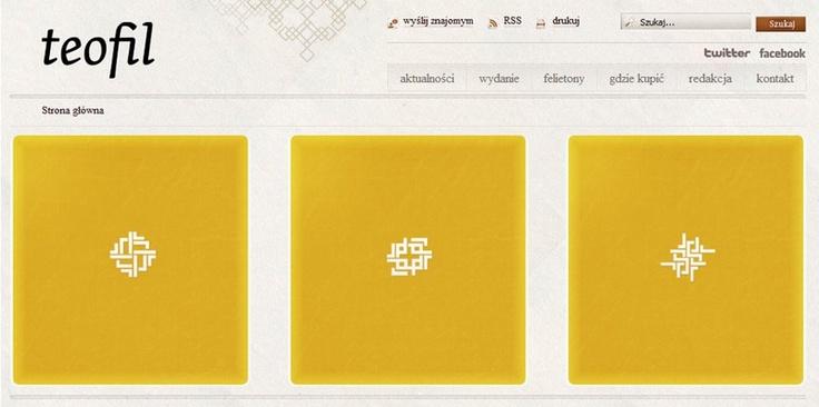 Teofil - website.    See it on: http://www.teofil.dominikanie.pl/