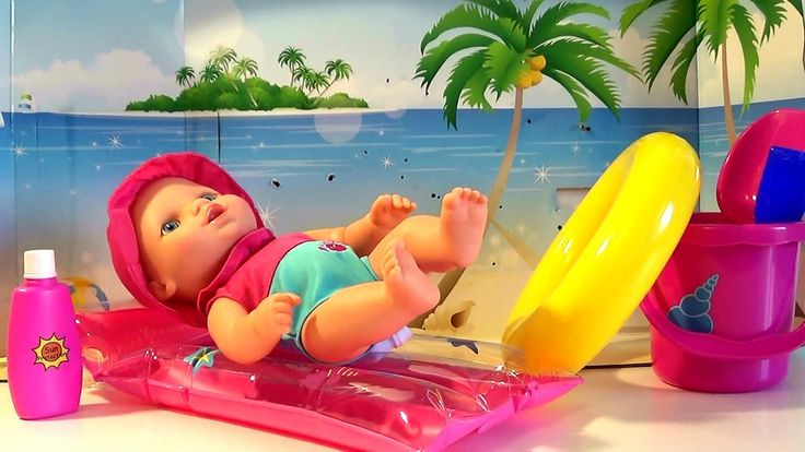 Maia Baby Doll Swimming Baby Cooking Toys Kids Cooking Toys Food Toys Ki...
