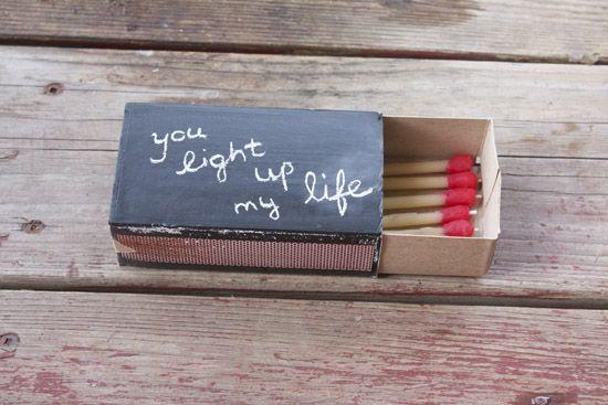 DIY: Love matchbox