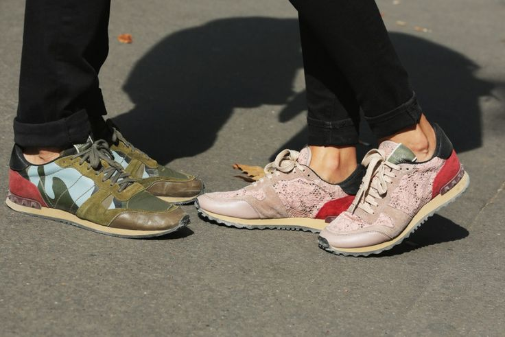 Love these Valentino camo sneakers. Shop Valentino at MATCHESFASHION.COM