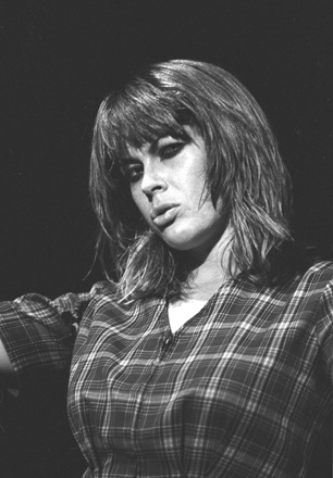 Chrissy Amphlett of Divinyls.