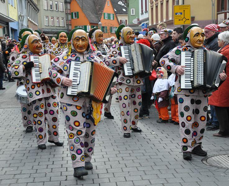 carnival in Oberndorf am Neckar