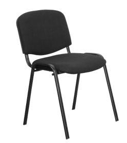 Chaise de reunion Niceday Noir par Office Depot