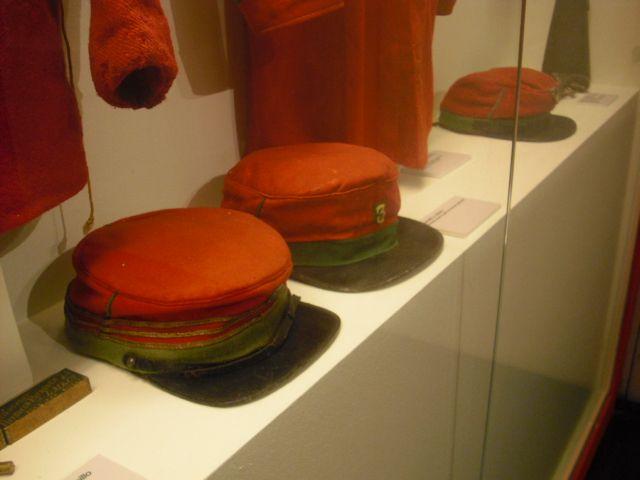 Garibaldini uniform from the museum of Brescia